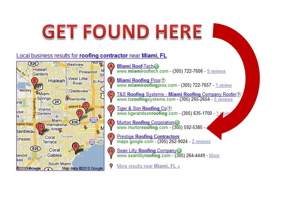How to get ranked on the Google map for contractors & home service