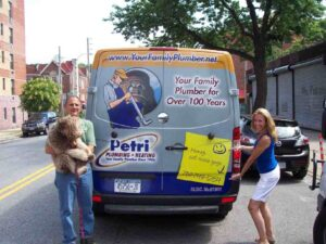 Mike Petri & Jeanne of Petri Plumbing