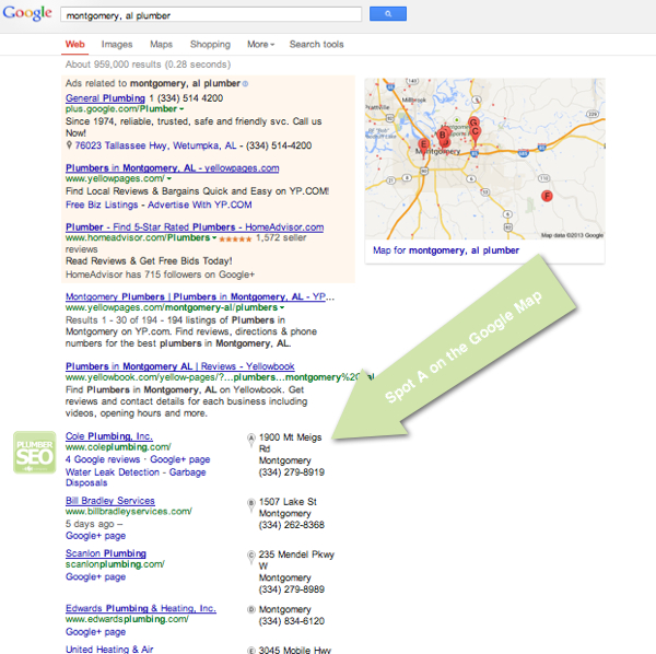 Plumbing Search Engine Optimization - Montgomery Plumber
