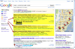 SEO Case Study for Plumbing - Miami Commercial Water Heater