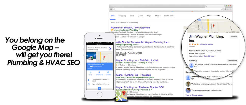 google map optimization for plumbers how to get plumbing company