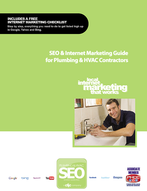 Plumbing & HVAC SEO Internet Marketing Guide Cover