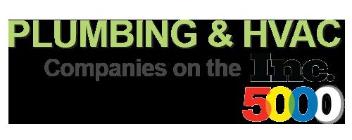 Plumbing & HVAC Companies on the INC 5,000 List in 2016 - Plumbing & HVAC SEO - Internet Marketing